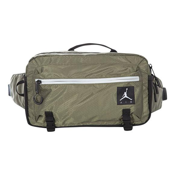 7369012c6422bb Jordan Jumpman Olive Black Crossbody Bag - Main Container Image 1