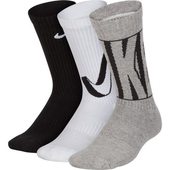 ed8fa4701 Nike Kid s Performance Cushioned Crew Training Socks (6 Pair) - Main  Container Image 1