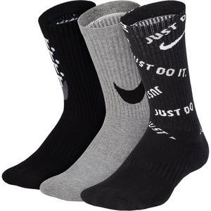 c3bc17b95c059 Nike Kids  Performance Everyday Cushioned Graphic Training Crew Socks