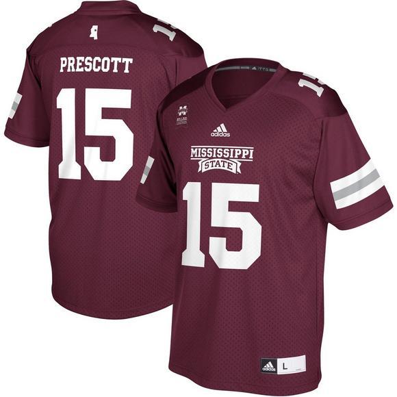 check out 6f17e 55b3d Adidas Mississippi State Bulldogs Dak Prescott Alumni ...