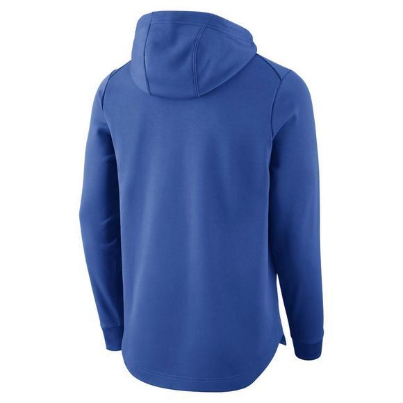 Devils Duke Men's Basketball Nike Blue Therma Fit Elite Hoodie c5RL4Aj3q