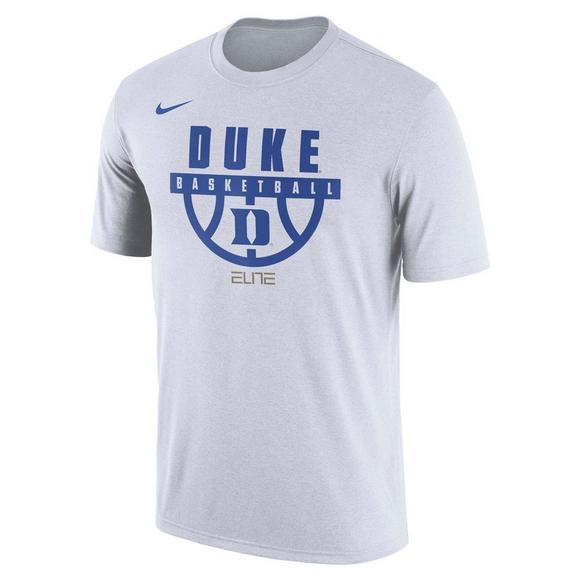 f27f4a2a12d1 Nike Men s Duke Blue Devils Basketball Elite Legend T-Shirt - Main  Container Image 1