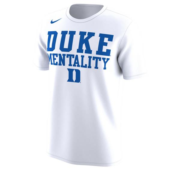 buy online ca2eb 460c5 Nike Men's Duke Blue Devils Basketball Legend Mentality T ...