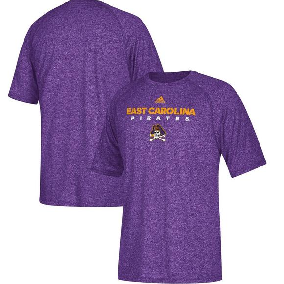 d2721d90a0 Adidas East Carolina Pirates Sideline Climalite T-Shirt - Hibbett US