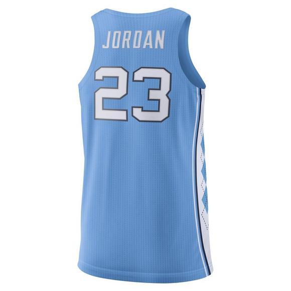 new styles a8b65 3156f Jordan Men's North Carolina Tar Heels Authentic Michael Jordan #23 Jersey