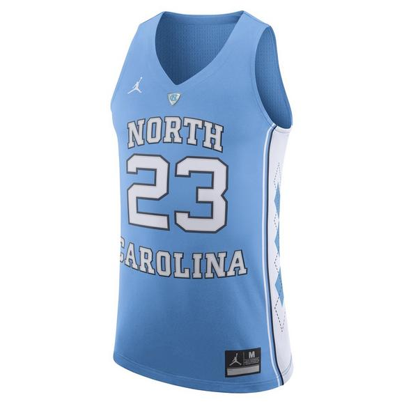 new styles b518a 60619 Jordan Men's North Carolina Tar Heels Authentic Michael Jordan #23 Jersey