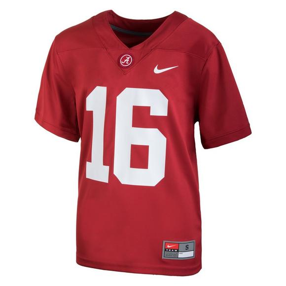 df2838514 Nike Youth Alabama Crimson Tide #16 Replica Football Jersey - Main  Container Image 1