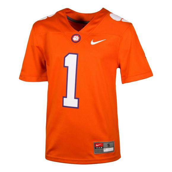 Nike Youth  1 Clemson Tigers Replica Football Jersey - Main Container Image  1 a72b86c17
