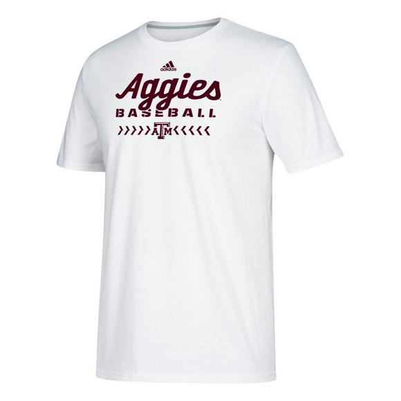f6362c4d555 adidas Men s Texas A M Aggies Go To Performance Baseball T-Shirt - Main  Container Image