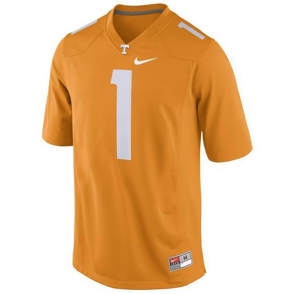 online store e8969 5fb9d Nike Men's Tennessee Volunteers Jason Witten #1 Jersey ...