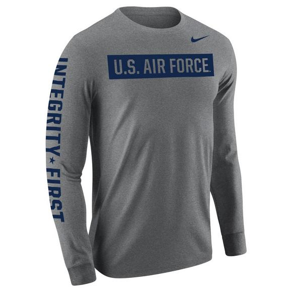 f8fa59ad47f Nike Men s Air Force Long Sleeve Military T-Shirt - Main Container Image 1