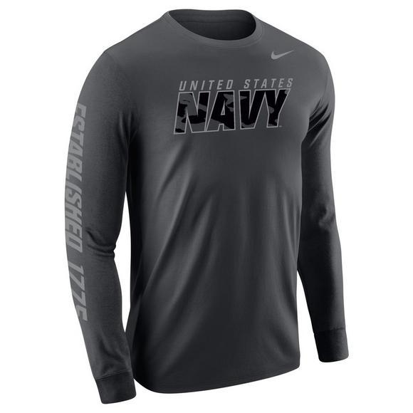 Sleeve Us Military Long Navy Nike Hibbett Men's Shirt T qxZBOvw