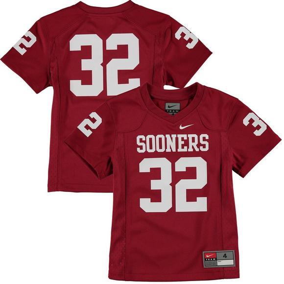 size 40 03fc7 f9e15 Nike Youth Oklahoma Sooners Replica Football Jersey - Hibbett US