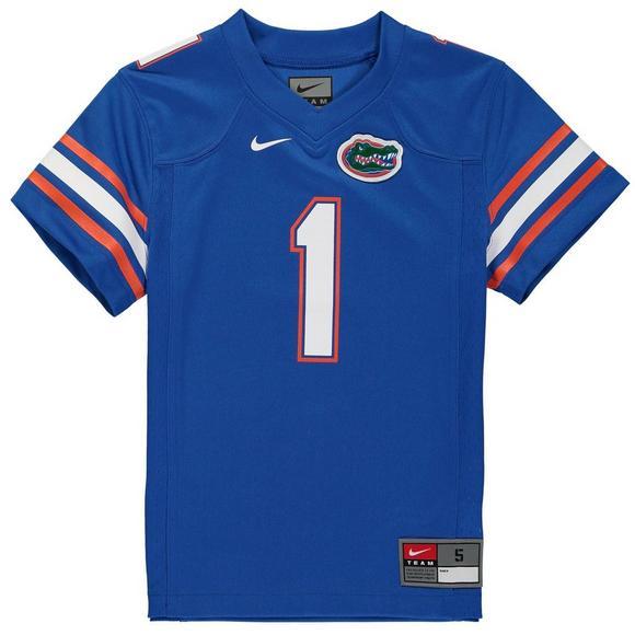quality design ce181 93f53 Nike Youth #1 Florida Gators Replica Football Jersey ...