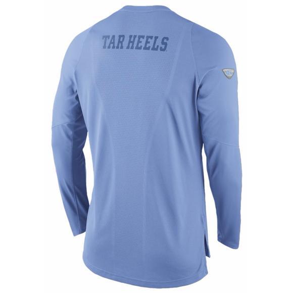 128c663dff759 Nike Men's North Carolina Tar Heels Dri-FIT On Court Shooting Shirt -  Hibbett US