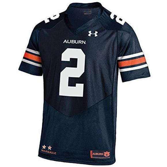 buy popular 6bb46 3a9fc Under Armour Youth Auburn Tigers #2 Replica Football Jersey