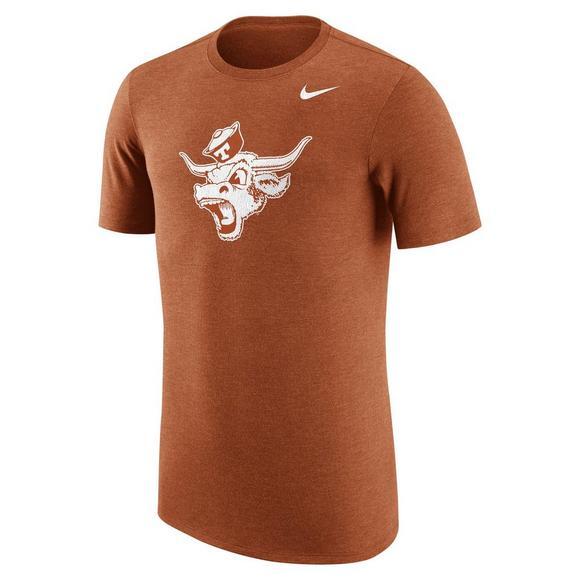 hot sale online 3abff 9a215 Nike Men s Texas Longhorns Tri-Blend Vault Logo T-Shirt - Main Container  Image