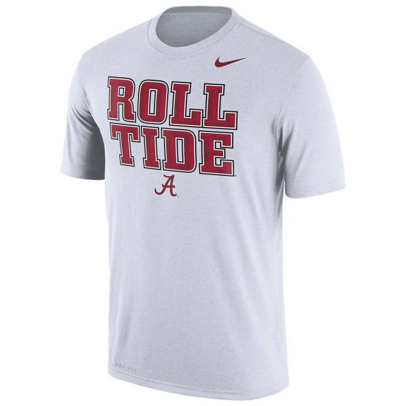 new products 8ddfe a23f5 Nike Men's Alabama Crimson Tide 2018 Legend Authentic Local Dri-FIT T-Shirt