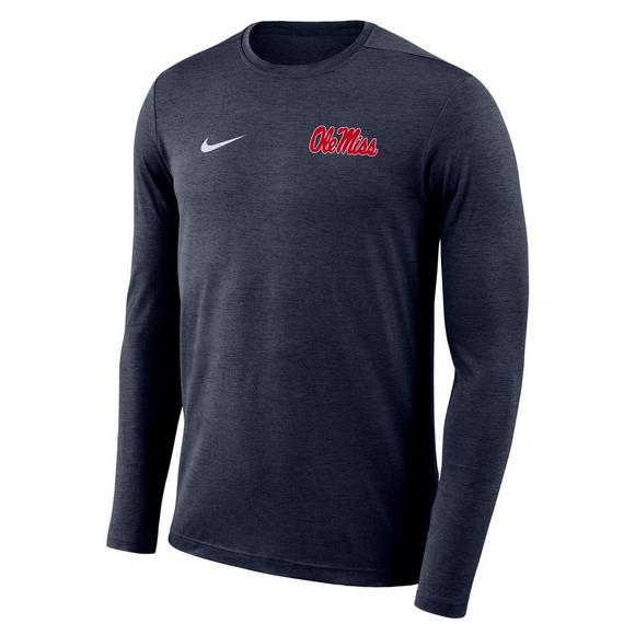 dea6dbfc Nike Men's Ole Miss Dri-Fit Touch Long Sleeve T-Shirt - Main Container