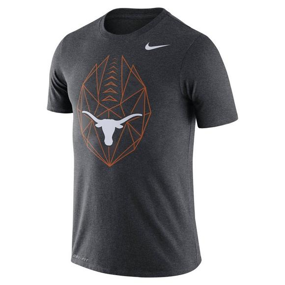 311f89a8735d Nike Men s Texas Longhorns Football Icon Crew T-Shirt - Main Container  Image 1