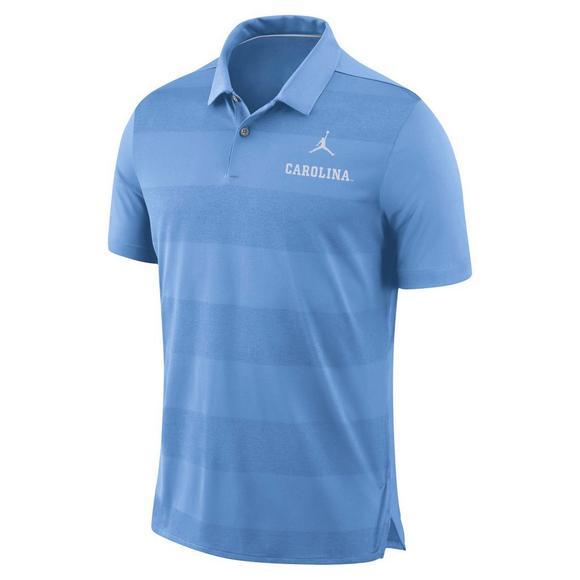 d29761c7702 Jordan Men's North Carolina Tar Heels Early Season Polo Shirt - Hibbett US