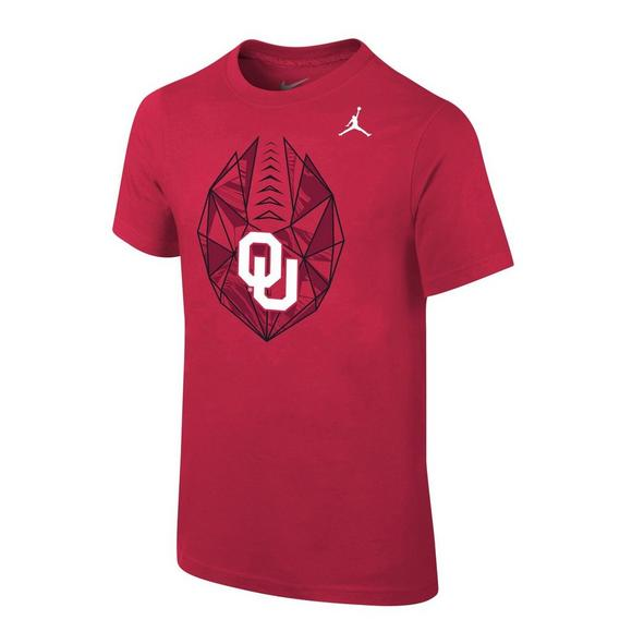 newest collection eceac 37814 Jordan Youth Oklahoma Sooners Football Icon T-Shirt ...