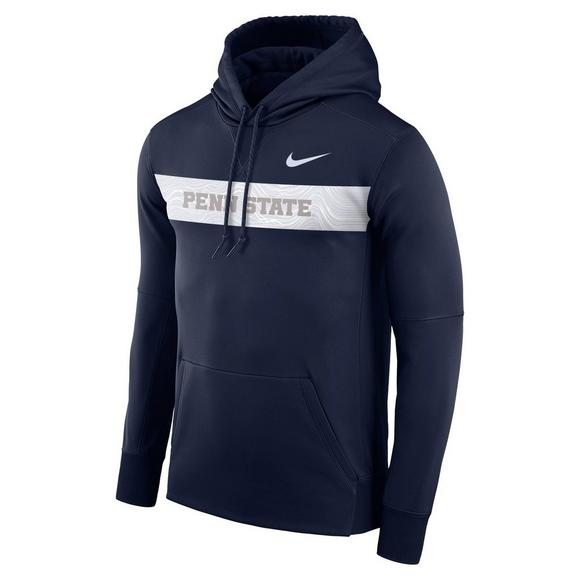 66e585a3d8e Nike Men's Penn State Nittany Lions Therma Hoodie Fleece - Main Container  Image 1