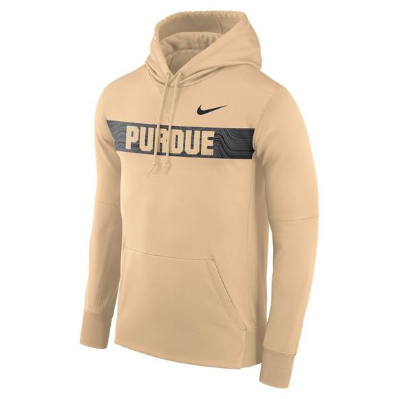 8a0d3ee68eb9 Nike Men s Purdue Boilermakers Therma Hoodie Fleece - Main Container Image 1