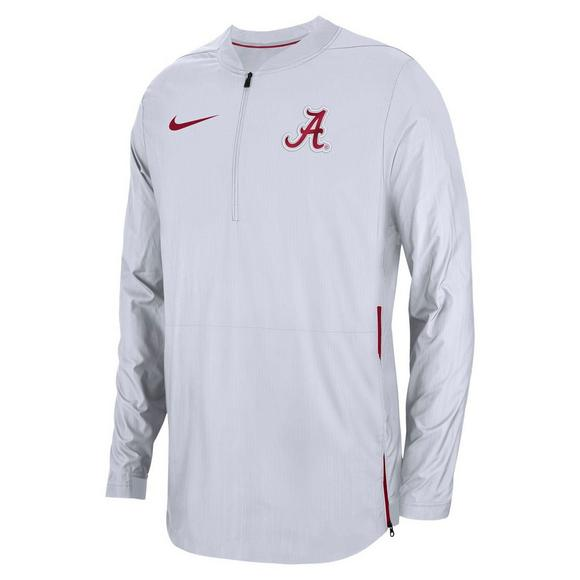ac1bfd7208 Nike Men s Alabama Crimson Tide Lockdown Jacket - Main Container Image 1