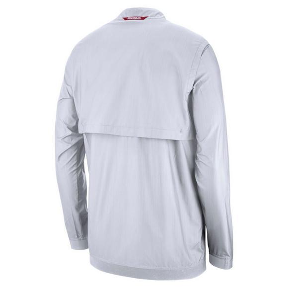 6abaf5269a98 Nike Men s Arkansas Razorbacks Lockdown Jacket - Main Container Image 2