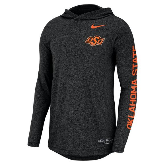 Nike Men s Oklahoma State Cowboys Marled Long-Sleeve Hooded T-Shirt - Main  Container e464f7efb