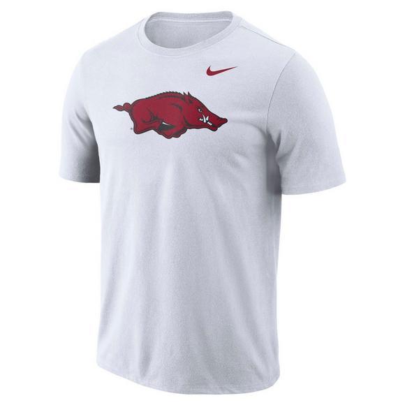 0c3fff1b4a Nike Men's Arkansas Razorbacks Dri-Fit Logo T-Shirt - Main Container Image 1