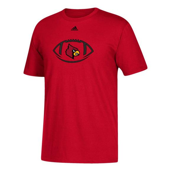 new arrival 4f6d2 0a840 adidas Youth Louisville Cardinals Football Icon T-Shirt