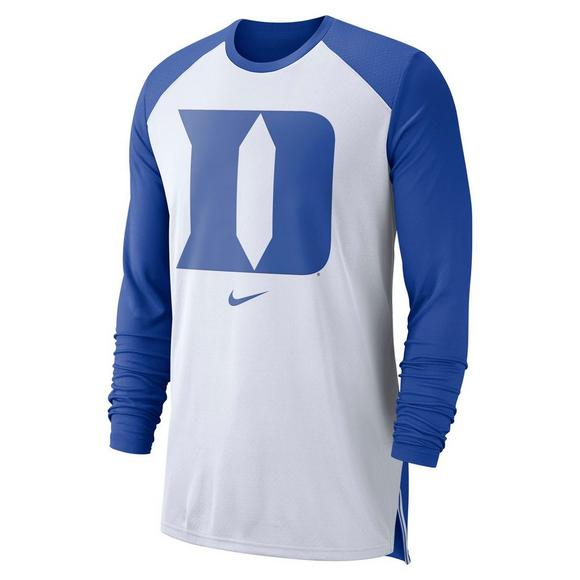 293ac6882 Nike Men's Duke Blue Devils Basketball Shooter Shirt - Main Container Image  1