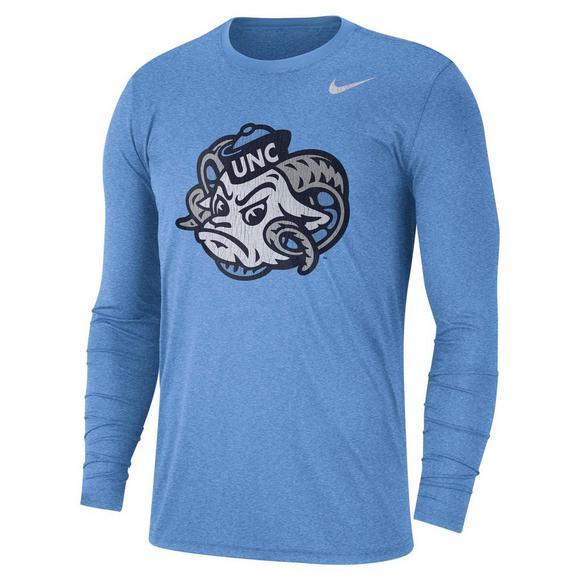 cd97b84cbbf2 Nike Men's North Carolina Tar Heels Long Sleeve Vault T-Shirt - Hibbett US