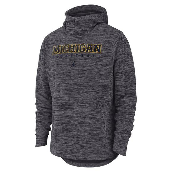 Michigan Jordan Gear >> Jordan Men S Michigan Wolverines Basketball Spotlight Hoodie