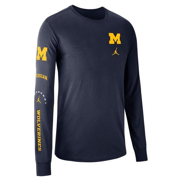 Michigan Jordan Gear >> Jordan Men S Michigan Wolverines Basketball Elevated Long