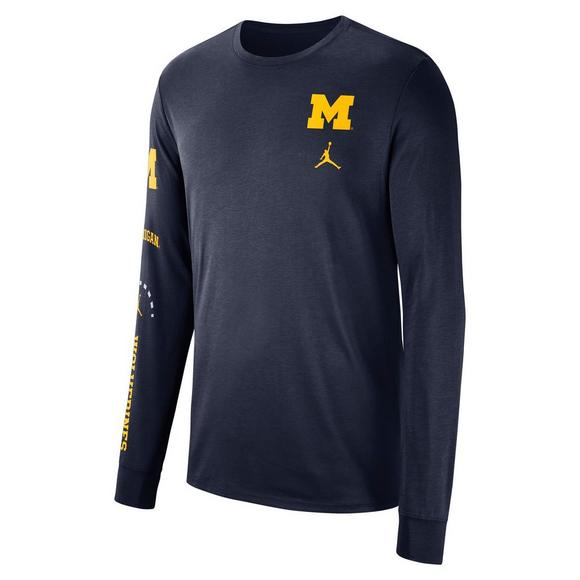 Michigan Jordan Gear >> Jordan Men S Michigan Wolverines Basketball Elevated Long