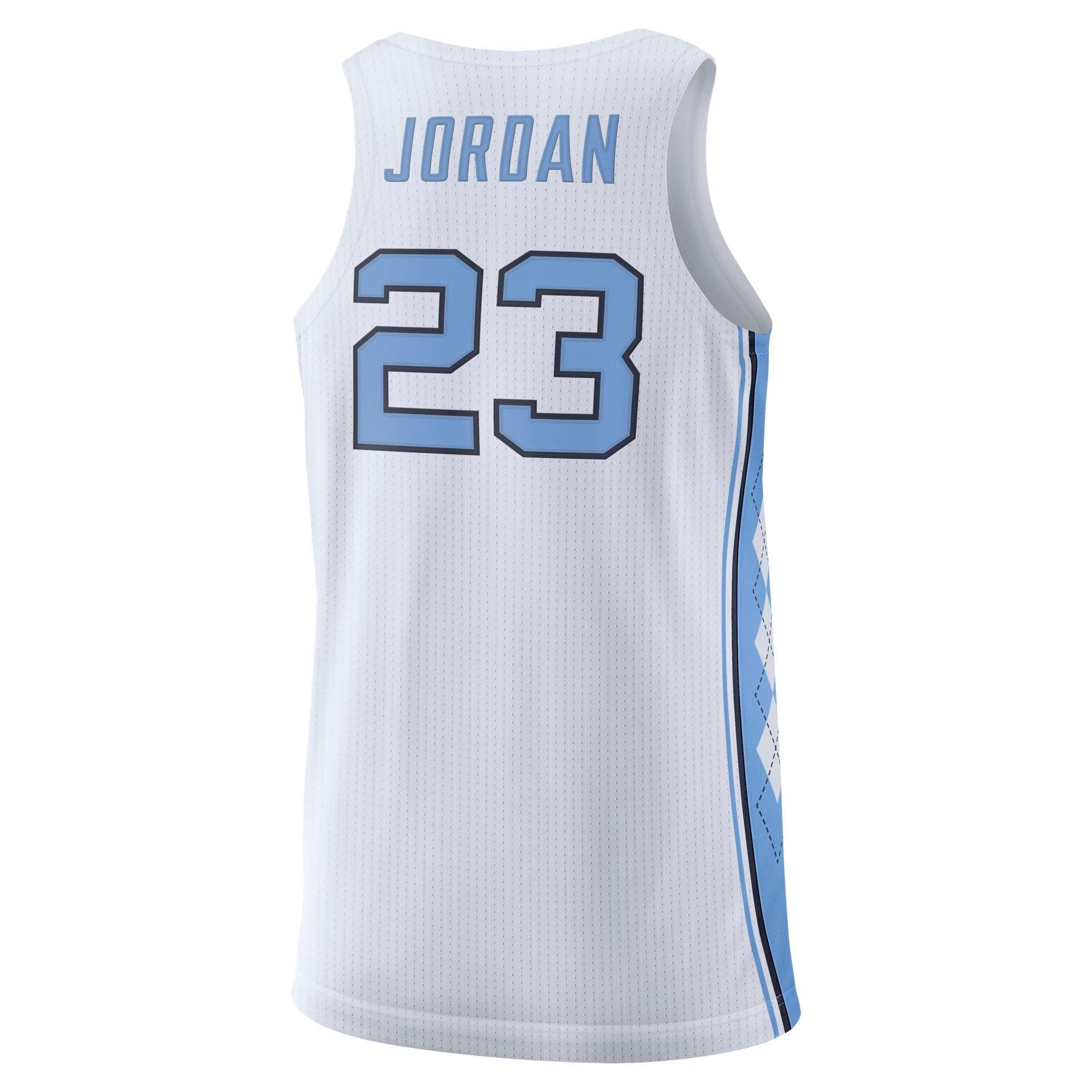 huge selection of 77f68 2f580 michael jordan nc jersey