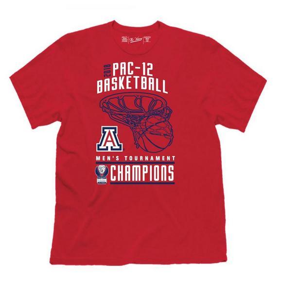low priced f3d40 27897 Retro Brands Men's Arizona Wildcats Pac 12 Tournament ...