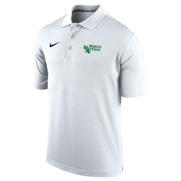 best sneakers cd639 e5dbf Nike Men's North Texas Mean Green Varsity Polo Shirt ...