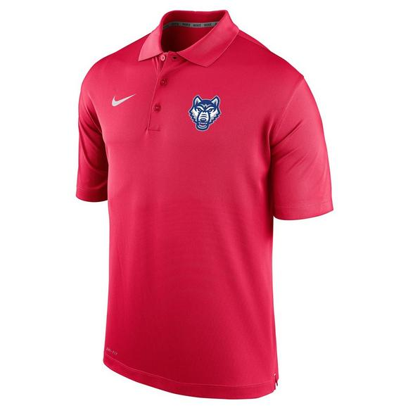 the latest 7587a 83343 Nike Men's West Georgia Wolves Varsity Polo Shirt - Hibbett ...