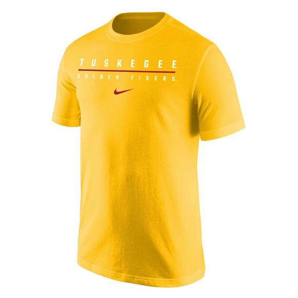 76a23b8b2a034 Nike Men's Tuskegee Golden Tigers Wordmark Short Sleeve T-Shirt - Main  Container Image 1