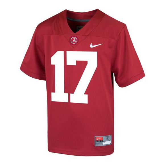 fe7c76d7ccd Nike Youth Alabama Crimson Tide  17 Jersey - Main Container Image 1