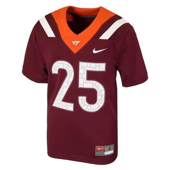 e8d74d35bb0 Nike Youth Virginia Tech Hokies  25 Jersey - Main Container Image 1