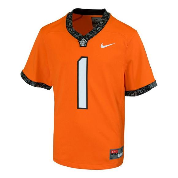 04fe9ed61 Nike Boys' Oklahoma State Cowboys 4-7 NCAA Replica No. 1 Football Jersey