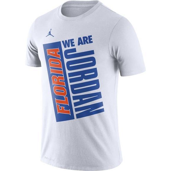 new concept 9d6e8 8d3bc Nike Men's Florida Gators We Are Jordan T-Shirt