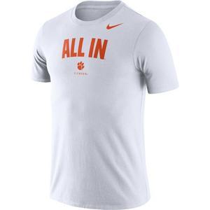 948a00f20ae2 Nike Men's Clemson Tigers Dri-FIT All In T-Shirt ...