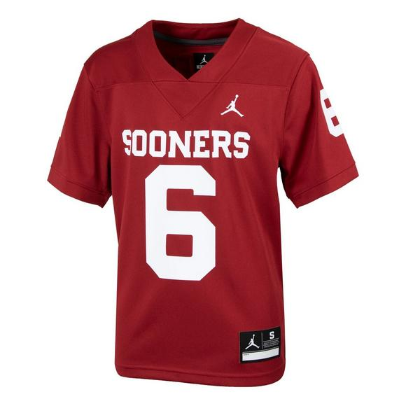 brand new 1c223 88c87 Jordan Youth Oklahoma Sooners Baker Mayfield #6 Jersey