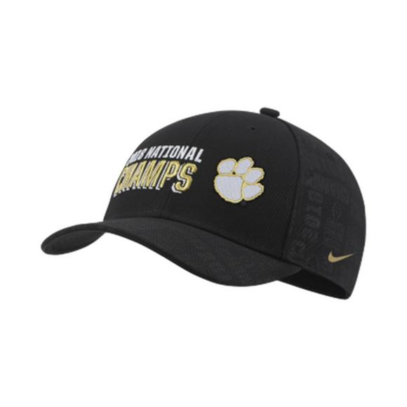 Nike Clemson Tigers 2018 CFP National Championship Locker Room Adjustable  Hat - Main Container Image 1 f6d16953ca9